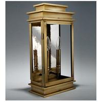 Northeast Lantern 8831-AB-LT2-CLR Empire 2 Light 19 inch Antique Brass Outdoor Wall Lantern in Clear Glass, No Mirror