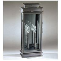 Northeast Lantern Empire 2 Light Outdoor Wall Lantern in Dark Brass 8851-DB-LT2-CLR-PM photo thumbnail
