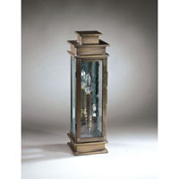 Northeast Lantern Empire 1 Light Outdoor Wall Lantern in Dark Antique Brass 8931-DAB-LT1-CSG-PM