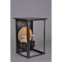 Northeast Lantern Ashford 2 Light Wall Lantern in Dark Antique Brass 8971-DAB-MED2-CLR-BR60