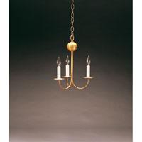 Northeast Lantern 903-AB-LT3 Signature 3 Light 10 inch Antique Brass Chandelier Ceiling Light