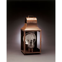Northeast Lantern Livery 1 Light Outdoor Wall Lantern in Antique Copper 9051-AC-CIM-CLR
