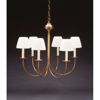 Northeast Lantern 906S-AB-LT6 Signature 6 Light 23 inch Antique Brass Chandelier Ceiling Light photo thumbnail