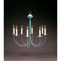 Signature 8 Light 23 inch Verdi Gris Chandelier Ceiling Light
