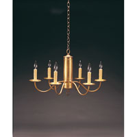 Signature 6 Light 25 inch Antique Brass Chandelier Ceiling Light