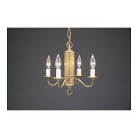 Northeast Lantern 911S-AB-LT4 Signature 4 Light 13 inch Antique Brass Chandelier Ceiling Light