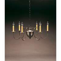 Northeast Lantern Signature 6 Light Chandelier in Dark Brass 913-DB-LT6