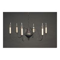 Northeast Lantern 915-DB-LT6 Signature 6 Light 26 inch Dark Brass Chandelier Ceiling Light
