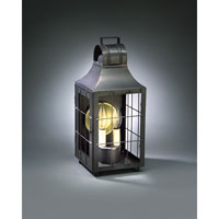 Livery 2 Light 16 inch Dark Brass Outdoor Wall Lantern in Clear Glass, No Chimney, Candelabra