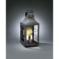 Northeast Lantern 9231-DB-LT2-CLR Livery 2 Light 16 inch Dark Brass Outdoor Wall Lantern in Clear Glass, No Chimney, Candelabra