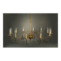 Signature 12 Light 50 inch Antique Brass Chandelier Ceiling Light