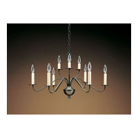 Signature 9 Light 28 inch Dark Brass Chandelier Ceiling Light
