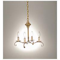 Northeast Lantern 984-AB-LT4 Signature 4 Light 16 inch Antique Brass Chandelier Ceiling Light