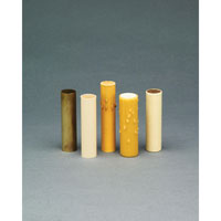 Accessory Cream Color Plastic Candle Sleeve