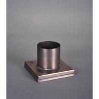 Northeast Lantern PM01-DB Accessory 3 inch Dark Brass Pier Mounting