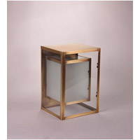 Northeast Lantern Waterford 1 Light Wall Lantern in Antique Brass SW0812-AB-MED-FST-CLR