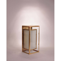 Northeast Lantern Waterford 1 Light Wall Lantern in Antique Brass SW0817-AB-MED-FST-CLR