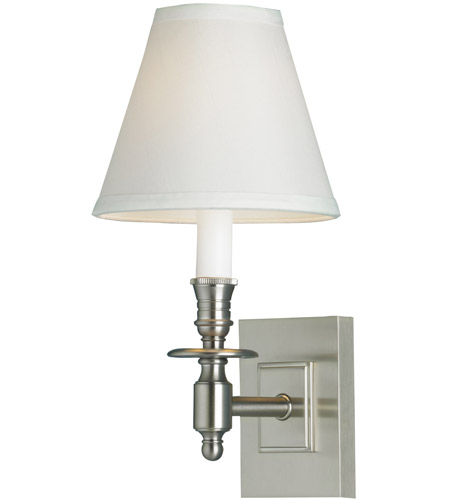 Brushed Nickel Brass Wall Sconces