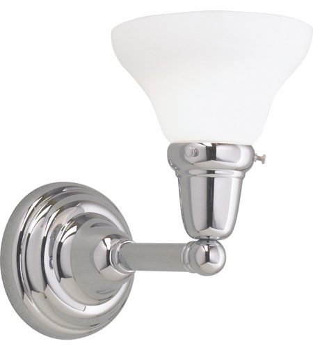 Norwell Chrome Steel Wall Sconces