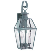 Norwell 1066-VE-BE Olde Colony 2 Light 17 inch Verde Outdoor Wall
