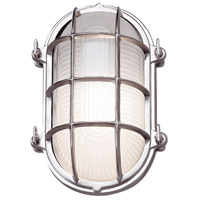 Mariner 1 Light 10 inch Chrome Outdoor Wall Lantern