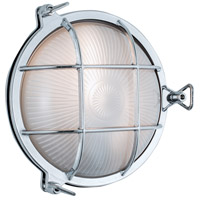 Norwell 1102-CH-FR Mariner 1 Light 10 inch Chrome Outdoor Wall