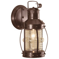 Norwell 1105-BR-CL Seafarer 1 Light 16 inch Bronze Outdoor Wall
