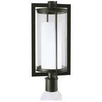 North LED 23 inch Bronze Outdoor Post Lantern