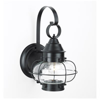 Cottage Onion 1 Light 16 inch Black Outdoor Wall Lantern, Large