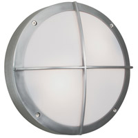 Norwell 1428-BA-FR Port 1 Light 4 inch Brushed Aluminum Outdoor Wall