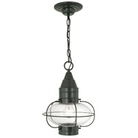 Norwell 1508-GM-SE Classic Onion 1 Light 11 inch Gun Metal Outdoor Hanger in Seedy Medium