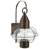 Classic Onion 1 Light 24 inch Bronze Outdoor Wall Lantern in Clear, Large