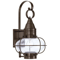 Norwell Bronze Glass Outdoor Wall Lights