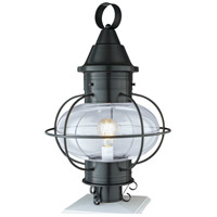 Norwell 1610-GM-CL Vidalia Onion 1 Light 22 inch Gun Metal Outdoor Post Light