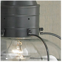 Gun Metal Vidalia Onion Post Lights