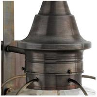 Norwell 1611-SI-PR Vidalia Onion 1 Light 19 inch Sienna Outdoor Post in Prismatic, Medium