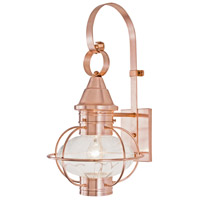 Copper Glass Outdoor Wall Lights