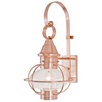 Norwell 1612-CO-PR Vidalia Onion 1 Light 21 inch Copper Outdoor Wall in Prismatic, Medium