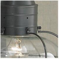 Norwell 1612-GM-PR Vidalia Onion 1 Light 21 inch Gun Metal Outdoor Wall in Prismatic, Medium