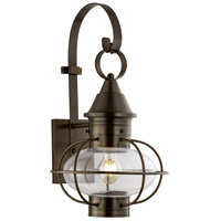 Norwell Sienna Brass Outdoor Wall Lights