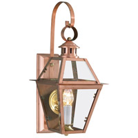 Norwell 2253-CO-CL Olde Colony 1 Light 22 inch Copper Outdoor Wall