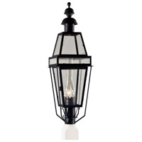 Beacon 1 Light 38 inch Black Outdoor Post Lantern, Large