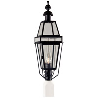Beacon 1 Light 33 inch Black Outdoor Post Lantern, Medium