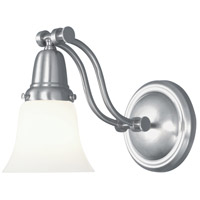 Franklin 1 Light 6 inch Brushed Nickel Sconce Wall Light