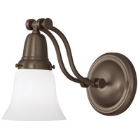 Franklin 1 Light 6 inch Oil Rubbed Bronze Sconce Wall Light