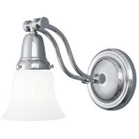 Norwell 3310-PN-BSO Franklin 1 Light 6 inch Polished Nickel Wall Sconce Wall Light