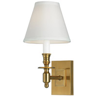 Norwell 5120-AG-WS Weston 1 Light 6 inch Aged Brass Wall Sconce Wall Light