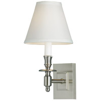 Norwell 5120-BN-WS Weston 1 Light 6 inch Brushed Nickel Wall Sconce Wall Light