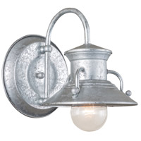 Budapest 1 Light 12 inch Galvanized Wall Sconce Wall Light, Small