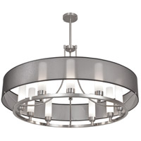 Ghost 9 Light 36 inch Brush Nickel Pendant Chandelier Ceiling Light